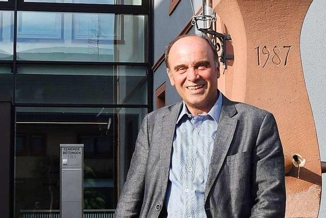 Dieter Schneckenburger ist einziger Kandidat für das Bürgermeisteramt in Bötzingen