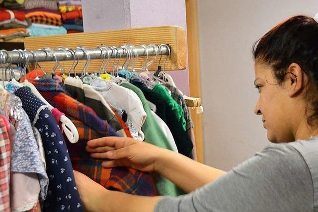 Die Kleiderkammer in Kirchzarten eröffnet ihre neuen Räume