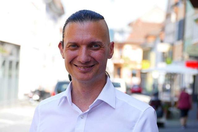Jürgen Durke von der Tierschutzpartei will Oberbürgermeister in Lahr werden