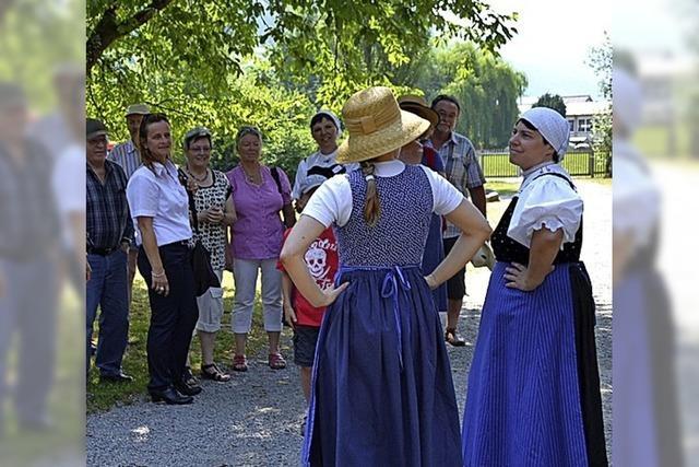 Brückenfest und Dorfvergnügen