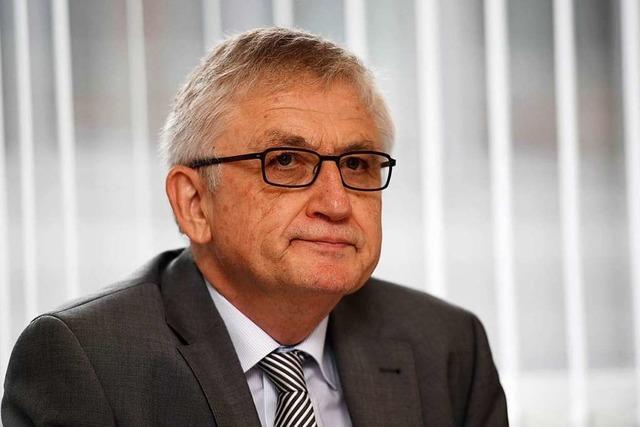 Staatssekretär Julian Würtenberger geht in den Ruhestand
