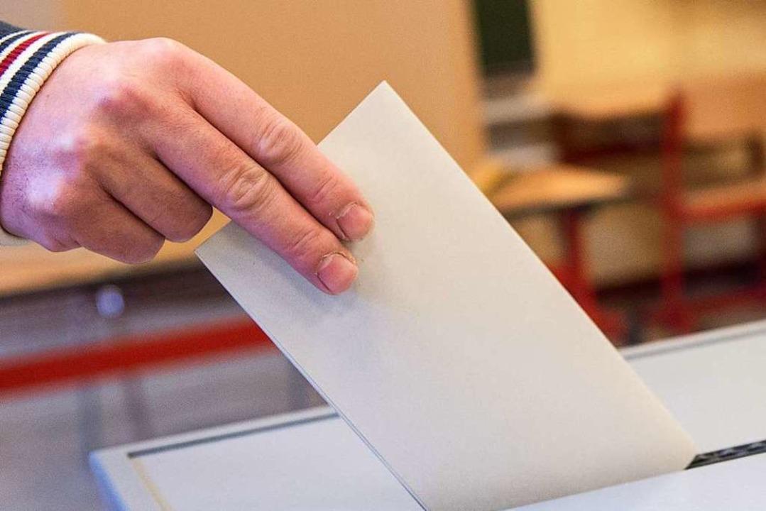 Die Wahlbeteiligung unter den Studenti...ag bei rund 13,7 Prozent (Symbolbild).  | Foto: Silas Stein