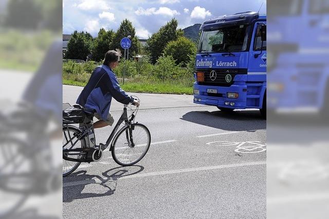 Beim Radschnellweg ist Steinen noch planlos