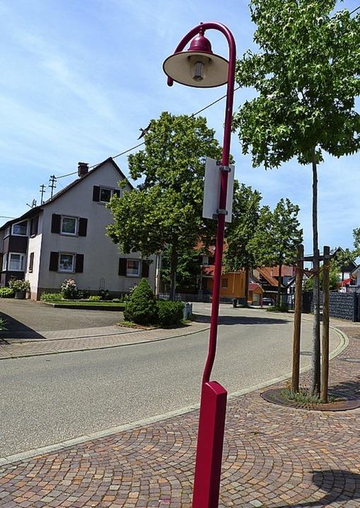 In Holzhausen will man  versuchen,  di..., ohne die Leuchtenform zu verändern.   | Foto: Claudia Bachmann-Goronzy