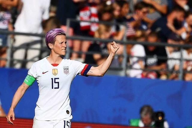 Spielerinnen setzen starke politische Statements bei der Frauen-WM