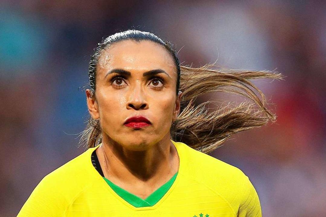 Ikone des Frauenfußballs:  Marta  | Foto: Francisco Seco (dpa)