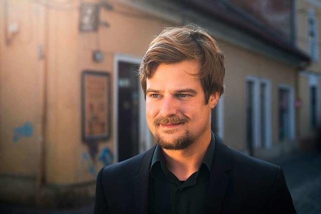Der Organist Martin Sturm spielte im Freiburger Münster