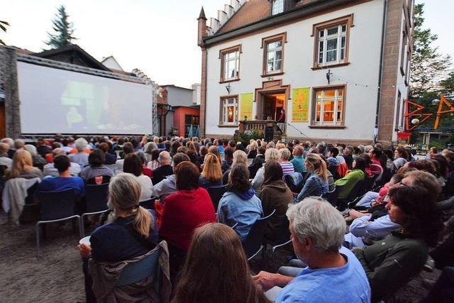 Im Nellie Nashorn kann man im Juli Filme unter freiem Himmel schauen
