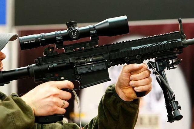 Kleinwaffen erhalten nur noch EU- und Nato-Länder