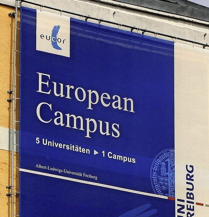 Die große Idee der Unis am Oberrhein – ein Europäischer Campus  | Foto: Steve Przybilla