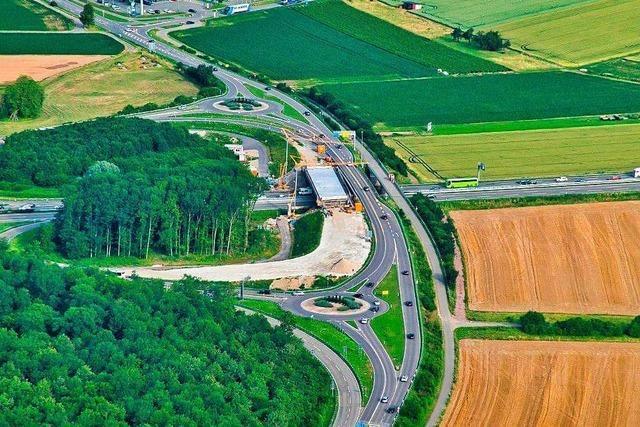 Die A5 bei Rust wird im November für einen Brückenabriss voll gesperrt