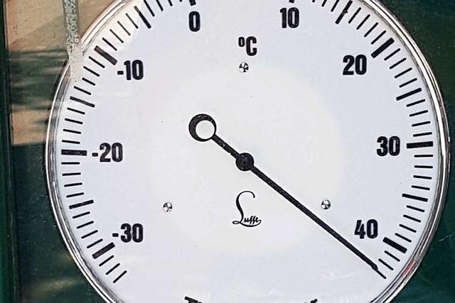Neuer Hitzerekord für den Monat Juni in Bad Säckingen