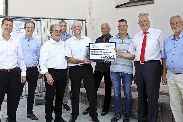 Denkmalstiftung unterstützt Rettung von St. Petronilla mit 120 000 Euro