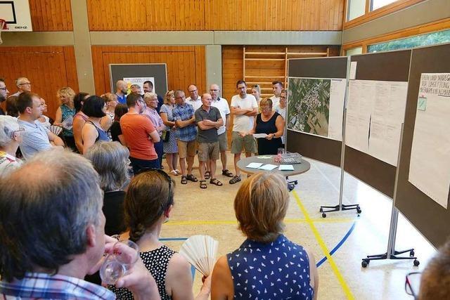 Schwanauer erarbeiten die Zukunft ihrer Gemeinde