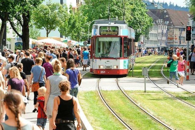 Diese Tramlinien in Freiburg werden am Wochenende unterbrochen sein
