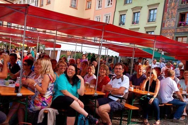 Das Bad Säckinger Brückenfest ist das einzige klimaneutrale Stadtfest in der Region