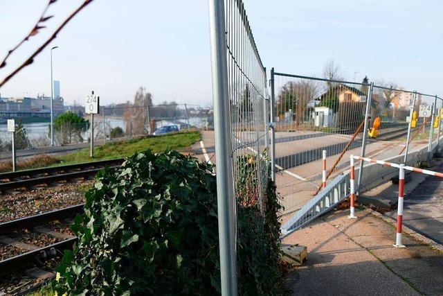 Bahnübergang Hörnle in Grenzach-Wyhlen wird zurückgebaut