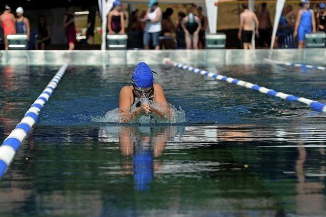 Das größte Schwimmsportevent Südbadens