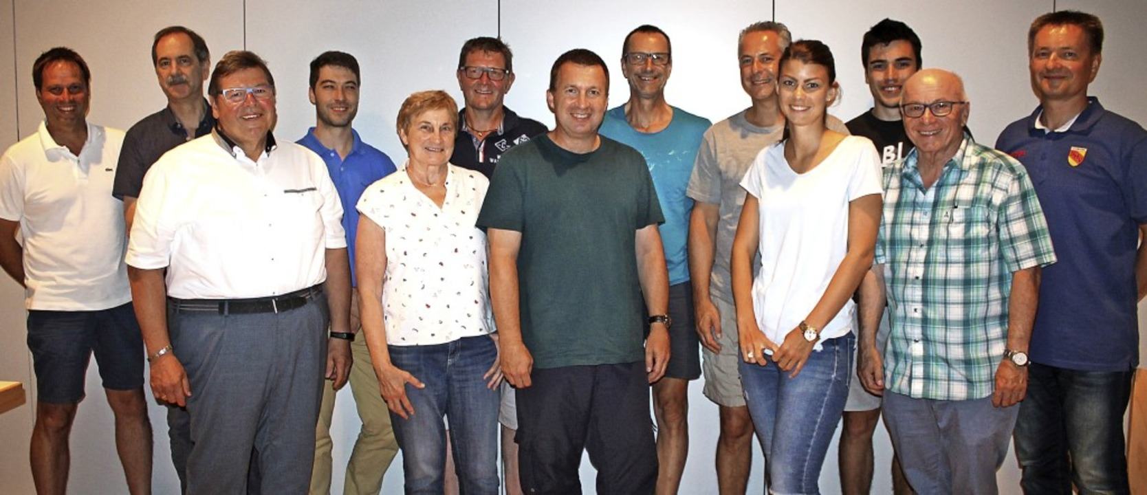 Der neue Bezirksfachausschuss des Handballbezirks Offenburg/Schwarzwald.  | Foto: Willi Intraschak