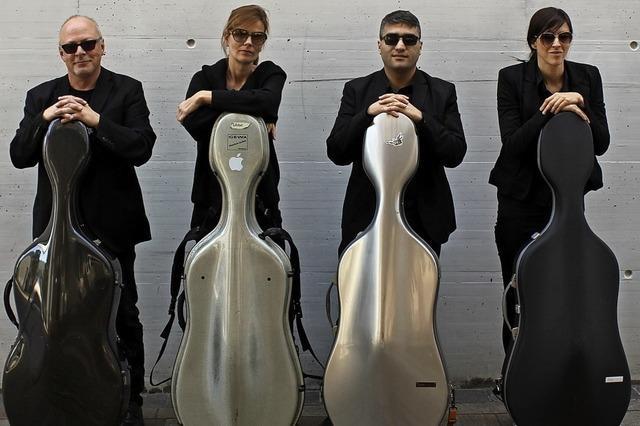 Die vier Cellisten von der IG Metall