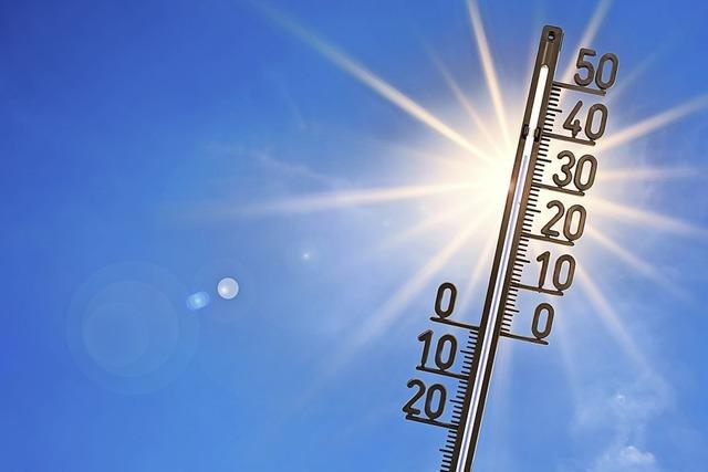 Hitzewelle aus der Sahara beschert neue Rekorde