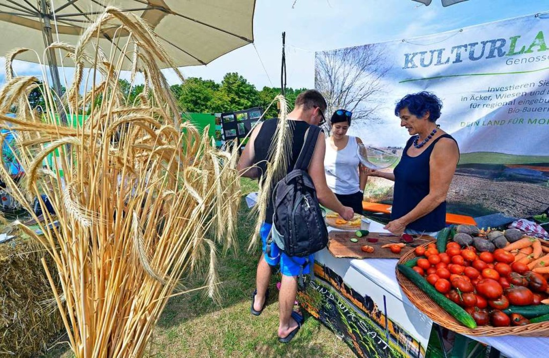 Beim Agrikulturfestival sollen sich Landwirte und Konsumenten austauschen.  | Foto: Michael Bamberger