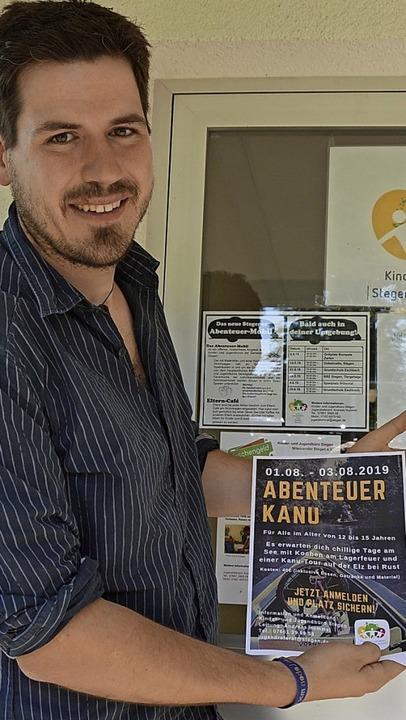 Andreas Hummel freut sich, ein attraktives Programm bieten zu können.   | Foto: Horatio Gollin