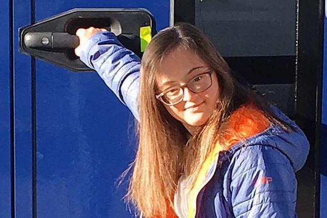 19-Jährige Mahlbergerin mit Down-Syndrom spielt bei TV-Serie mit