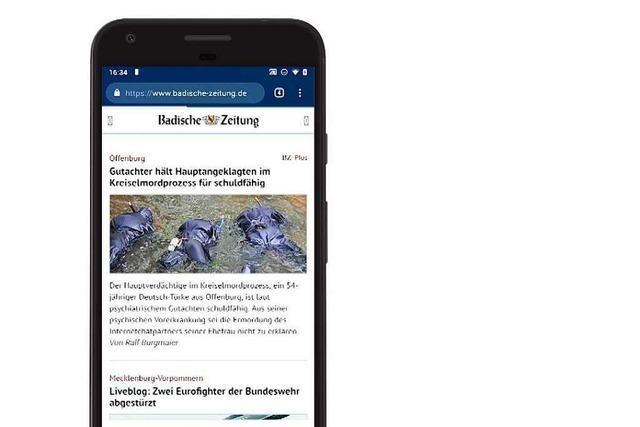 Mit diesem kinderleichten Trick können Sie BZ-Online ganz einfach auf Ihrem Android-Handy aufrufen