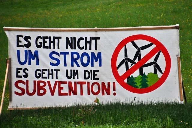 Die Bürgerinitiative Schwarzwald Gegenwind fühlt sich durch den Windatlas bestätigt