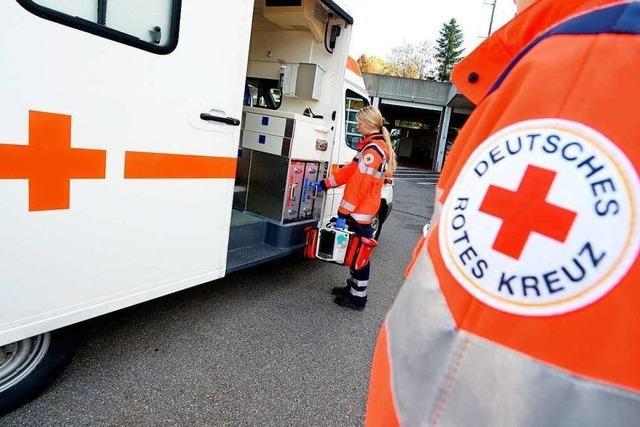 Das Rote Kreuz in Grenzach-Wyhlen richtet einen Landesentscheid aus