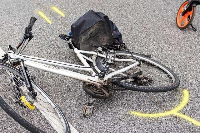 69-jähriger Fahrradfahrer stürzt in Lörrach mit zwei Promille