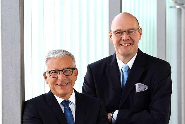 Der Lörracher Volksbank-Vorstand Ulf Bleckmann kündigt seinen Ausstieg an