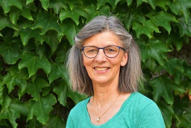 Pfarrerin Rita Buderer: