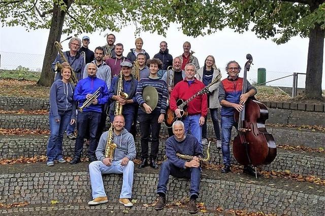 Big Sound Orchestra mit Johannes Maikranz und Isa Morgenstern im Lörracher Jazztone