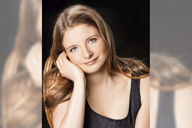 Pianistin Jule Rosner bei