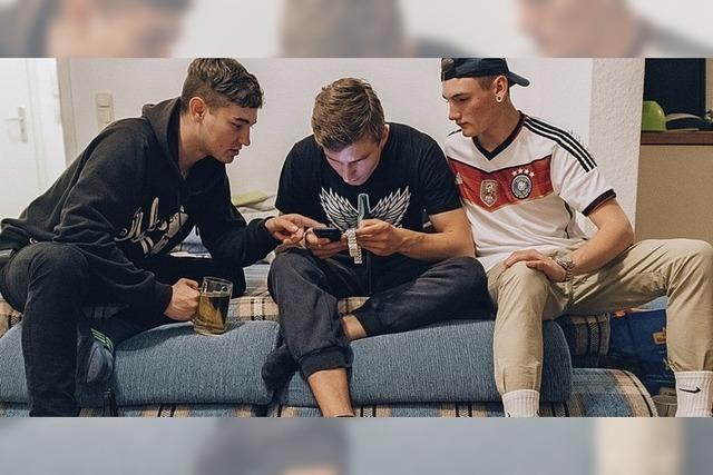 Dokumentarfilm über eine Jugendgruppe Instagram-Blogger
