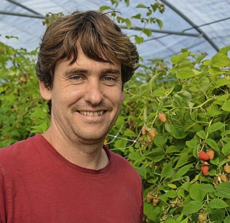 Demeter-Landwirt Joel Siegel  | Foto: Gabriele Hennicke