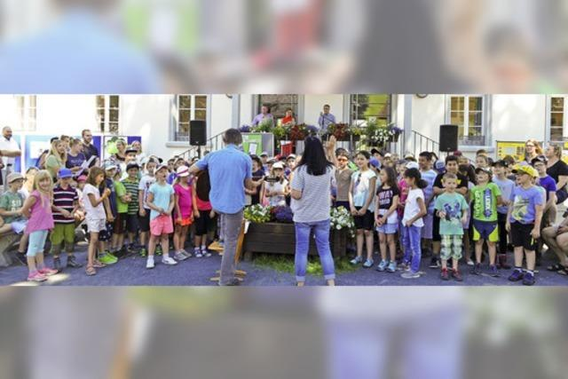 Todtnau ist 100. Naturpark-Schule