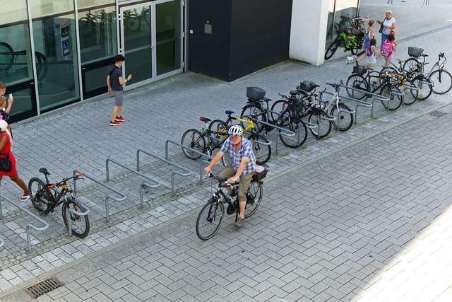 Sind Rheinfeldens Radwege wirklich breit genug?