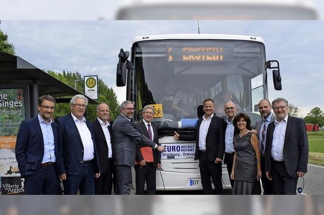 Ziel: Buslinien über den Rhein