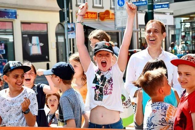 In Lörrach drehte sich am Freitag alles um umweltfreundliche Fortbewegung
