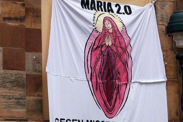 Kein Ermittlungsverfahren wegen Maria-Plakat gegen Freiburger Theologie-Studierende