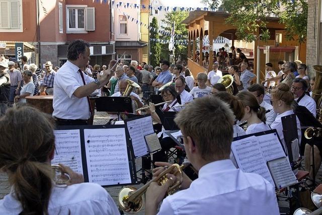 Müllheimer Stadtfest ist eröffnet