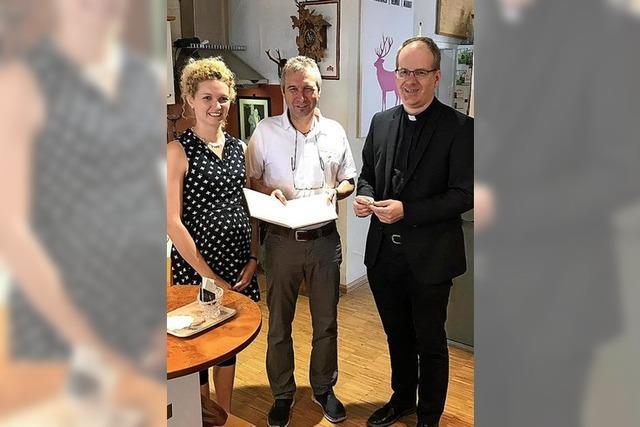 Bischofsring in Elzach gemacht