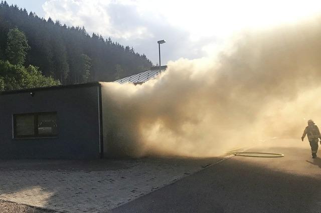 Kraftakt für die Feuerwehr