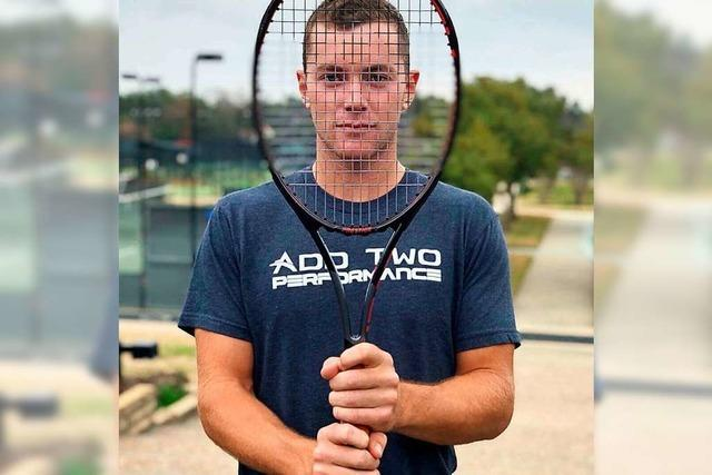Dominik Koepfer aus Furtwangen spielt nächste Woche in Wimbledon