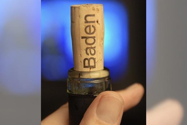 Weiter Werbung für badischen Wein