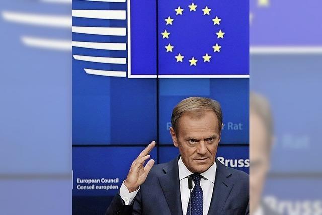 Nächste Runde beim Ringen um EU-Spitze