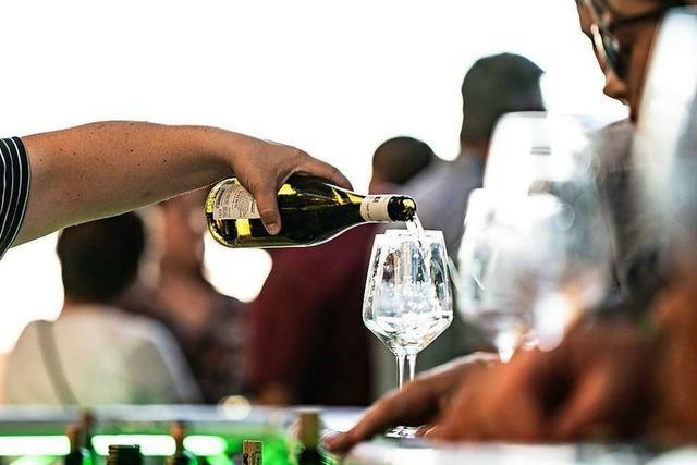 Wie war's bei der Wein-Fass-Bar in Oberrotweil?